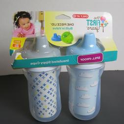The First Years Spill-Proof Insulated Sippy Cup ~ 2 pk ~ 9 o