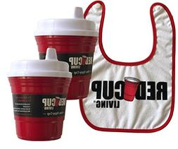 Red Cup Living Red Spill-Proof Sippy Cup 8oz + Snapback Cott