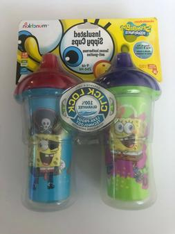 Munchkin Spongebob Squarepants Insulated Sippy Cup, 9-Ounce,
