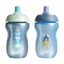 Tommee Tippee 2 Pack 10 Ounce Sportee Bottle - Pink and Purp