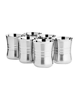 6 Stainless Steel Sippy Cup Glass Drinking Water USA Fast Sh