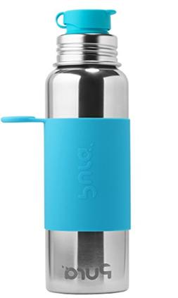Pura Sport 28 OZ / 850 ml Stainless Steel Water Bottle with