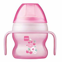 MAM Starter Cup with Handles, Girl,  5 Ounces, 1-Count