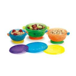 Stay-Put Suction Bowls 3-Pack