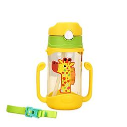 Timall Baby Straw Cup Animal Toddlers Learner Bottle Kid Sip