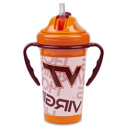Straw Top Sippy Cup | Official NCAA Virginia Tech Licensed P