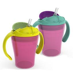 6 oz. Summer Training Straw Cup - 2 pack Girl