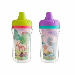The First Years Super Chill Insulated Sippy Cup, 9 Ounce,Des