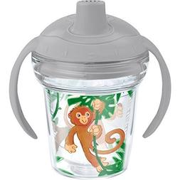 Tervis Swingin on a Vine Sippy Cup with Lid, 6 oz, Clear by