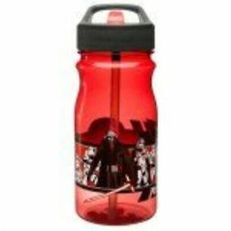 Zak Designs SWRN-Q651 star Wars Ep7 Straw Bottle, 16.5 oz, M