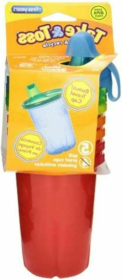 The First Years Take Toss Spill-Proof Sippy Cups, 10 Ounce,