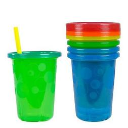 The First Years Take & Toss Spill-Proof Straw Cups 18+ Month