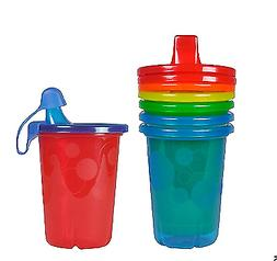 The First Years Take & Toss Spill-Proof Sippy Cups, 10 Ounce