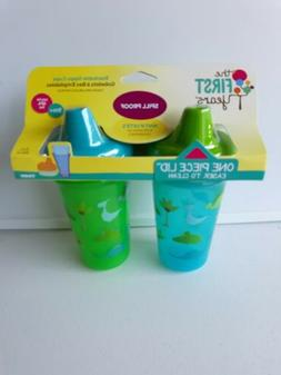 The First Years Stackable Hard Spout Cup, 2Pk, Colors May Va