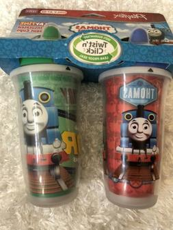 Thomas & Friends Playtex Spout Sippy Cups 12M+ Insulated Pla