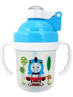 Small Thomas and Friends Sippy Cup with Lid - Blue Thomas an