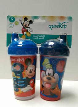 Toddler 2pk Spill Proof Licensed 10oz Sippy Cups Tumbler Dis