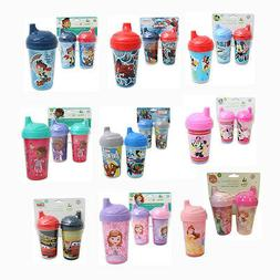 Toddler 2pk Spill Proof Licensed 10oz Sippy Cups Tumbler Mic