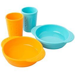 Kinderville  Toddlers & Kids Cups & Kid Bowls Dishwasher/Mic