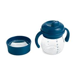 OXO Tot Transitions Sippy Cup Set, Navy, 6 Ounce