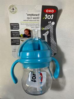OXO Tot Transitions Straw Cup with Removable Handles 6 Ounce
