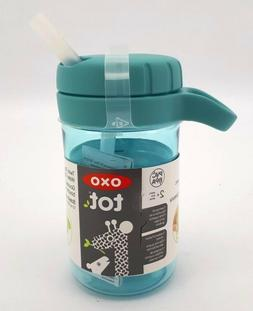 OXO Tot Twist Lid Water Bottle for Big Kids  - Aqua