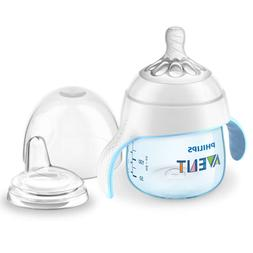 Philips Avent My Natural Trainer Sippy Cup, Blue, 5oz, 1pk,