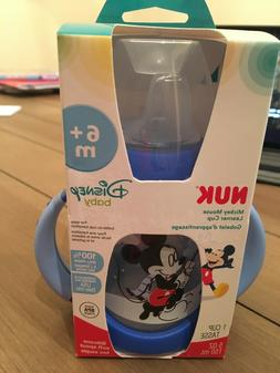 Trainer Sippy Cup Learner Bottle Baby Feeding Mickey Mouse D