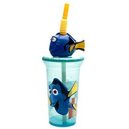 Zak Designs Finding Dory 15 oz. Buddy Sip Tumbler, Dory
