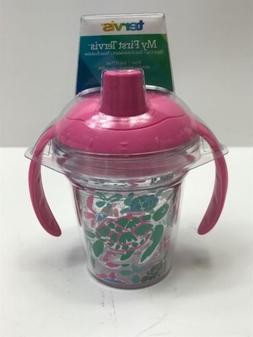 tumbler simply southern pink green
