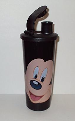 Tupperware 16 Ounce Tumbler with Flip Top Seal Walt Disney D