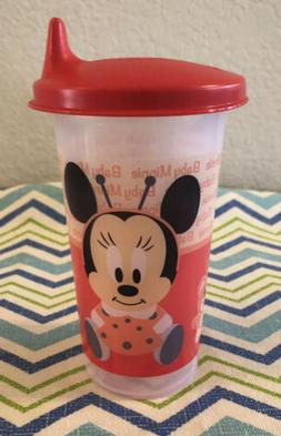 Tupperware Disney Minnie Mouse Bell Tumbler Sippy Cups 10oz