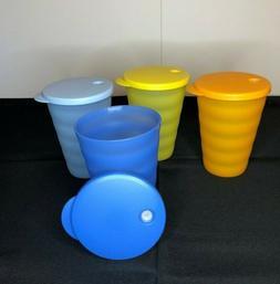 Tupperware Large 16oz Impressions Tumblers Cups - New