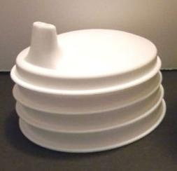 Tupperware SIPPER Sippy CUP Seal SET Domed WHITE NEW
