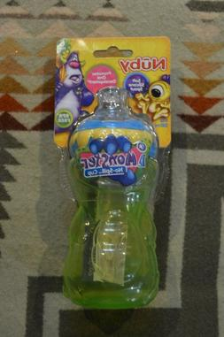 Two 2 Nuby No Spill Monster Sippy Cups 11oz  New with Tags