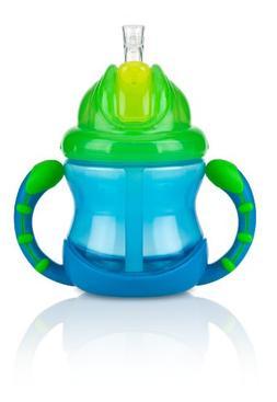 Nuby, Two-Handle Flip N' Sip Children's 360 degree Straw S