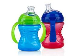 Nuby 2-Pack Two-Handle No-Spill Super Spout Grip N' Sip Cups