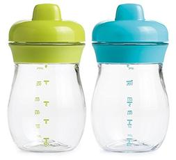 Bundle of Two OXO Tot Transitions Sippy Cups  - Green and Aq