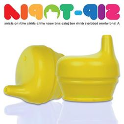 Universal Silicone Sippy Lid by Sip-Topia  – Spill & Leak