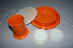 Vintage Tupperware Little Diner Bowl #1317, and Sippy Cup #1