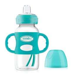 Dr. Brown's Options Wide-Neck Sippy Spout Baby Bottle with S