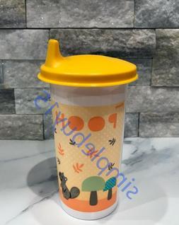 Tupperware Winnie The Pooh 10.5oz Tumbler BPA Free Sippy Cup