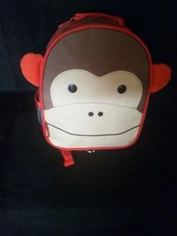 Skip Hop Zoo Toddler Kids Backpack Monkey Boy Brown 12-inche